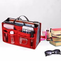 Ultimate Korean Bag in Bag Organizer IM OR 20-01/Korean Travel Pouch - Merah