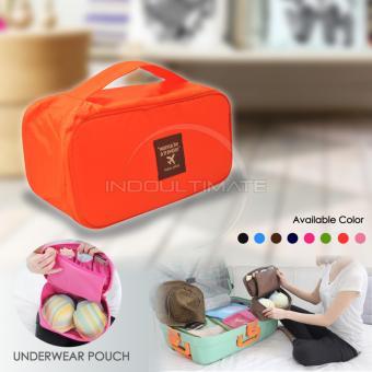 Ultimate Organizer Underwear Pouch IM OR 32-01/Underwear TravelPouch - Orange