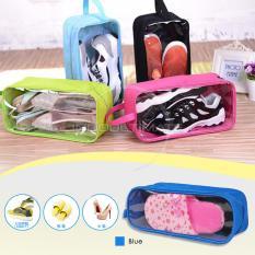 ULTIMATE SHOES Pouch Organizer / Tas Untuk Menyimpan Sepatu Murah TS-01 - Blue