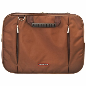 Ultimate Softcase / Sleeve / Cover / Tas Laptop Double Champ 14 inch BROWN