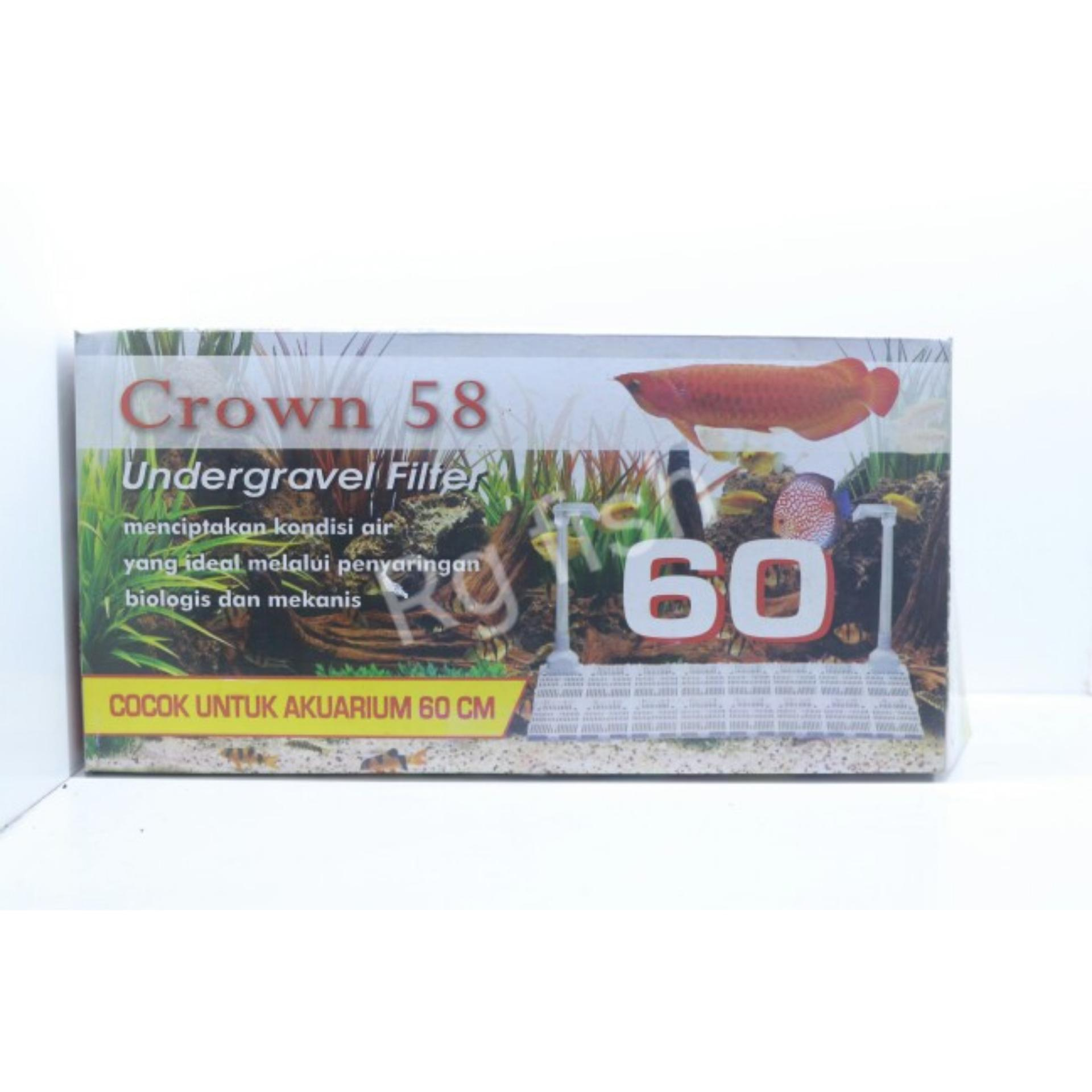 undergravel filter 60 crown 58