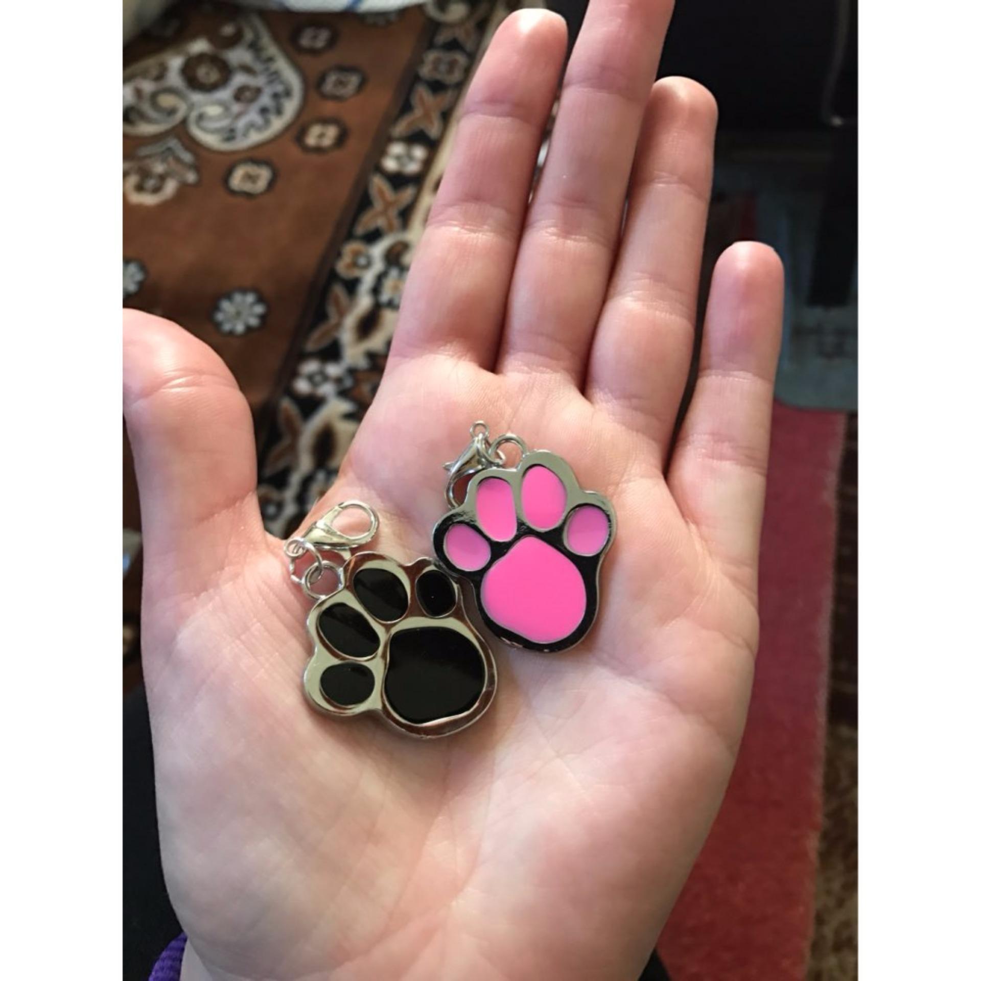 Unipet Bandul / liontin Paw untuk Kalung Anjing dan Kucing .