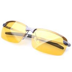 UV400 Malam Visi Kacamata Anti Silau Lensa Kacamata Terpolarisasi Eyewear Mengemudi Bila Kamu Belum Menemukan Concealer Mata Abu-Abu