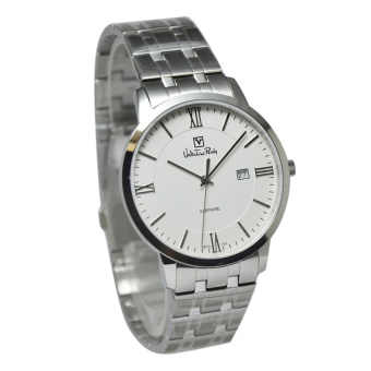 Valentino Rudy Jam Tangan Pria Silver Stainless Steel VR105-1313