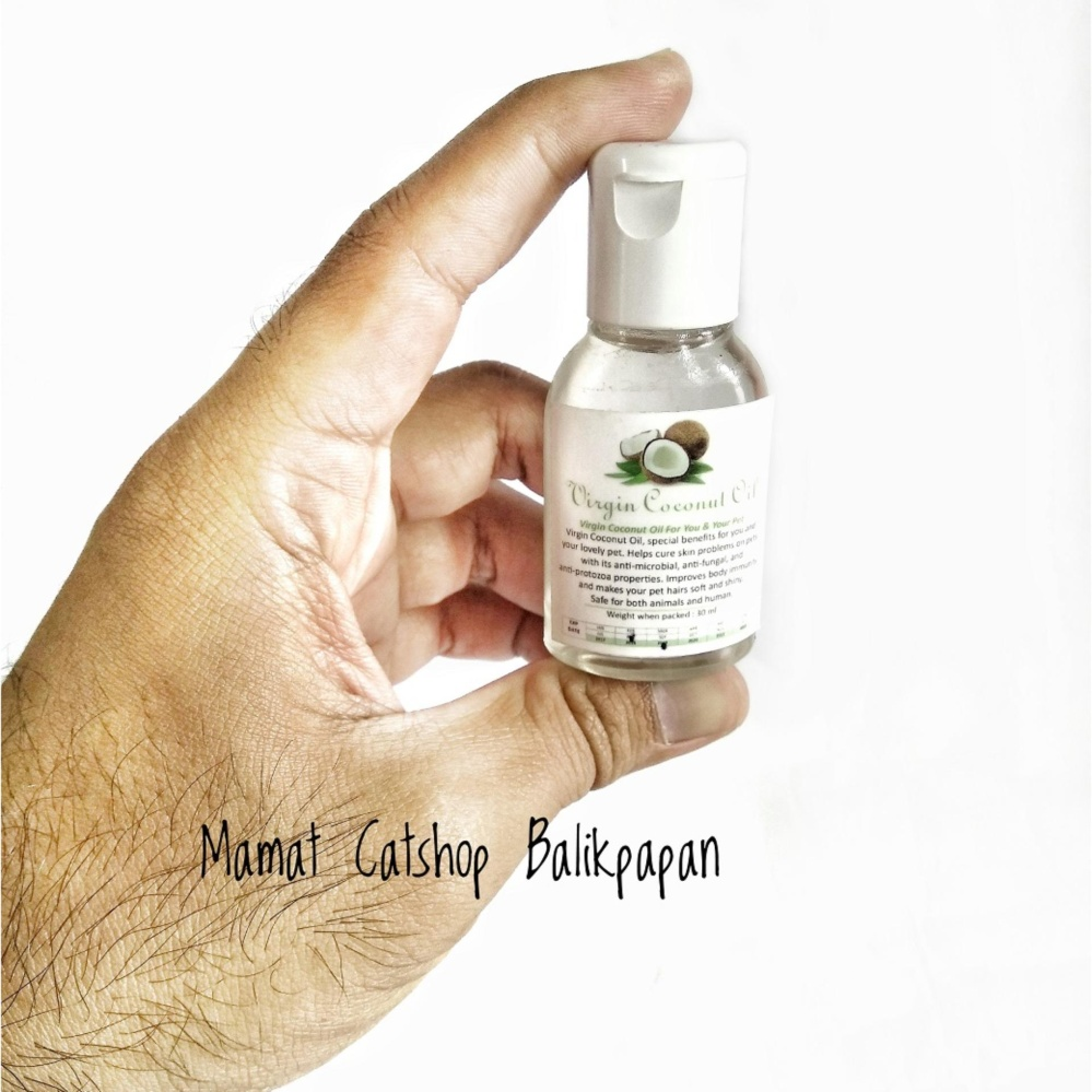 VCO (Virgin Coconut Oil) untuk hewan kesayangmu 30 ml