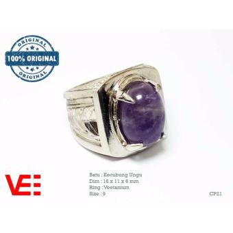 Blink Cincin Wanita Model Mutiara Batu Bling Ungu Harga. Source · VeE Cincin Pria Batu Kecubung Ungu - Batu Akik CP21 .