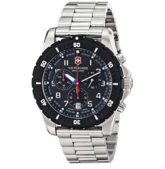 Victorinox Men's 241679 Chronograph Stainless Steel Sport Watch - intl