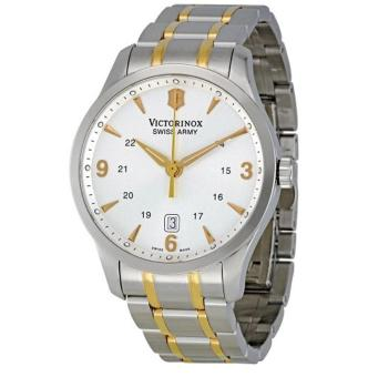 Victorinox Swiss Army Men's 241477 Silver Dial Watch - intl