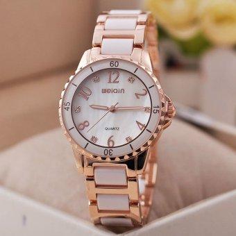 ff739bdcdad89 WeiQin Brand Fashion Top Quality Women Dress Watches Clock Women WATCH