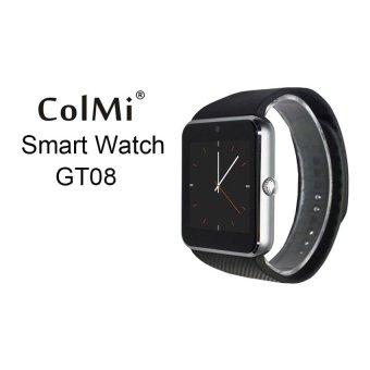 Wifi android waterproof smart watch,sport bluetooth 8g card smartwatch(gto8 ) - intl