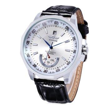 WINNER Male Auto Mechanical Watch Date Display Working Sub-dial Wristwatch - intl