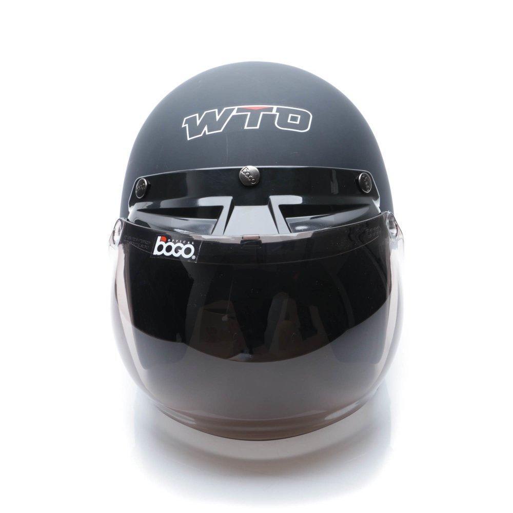 Periksa Peringkat Wto Helmet Retro Bogo Hitam Doff Promo Gratis Jaring Helm All A