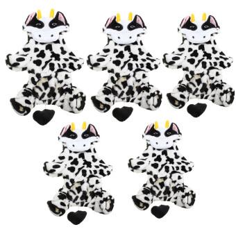 XL lucu kucing anjing peliharaan bayi anak cloth baju kostum Natalsusu sapi mantel - Internasional - 5