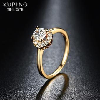 harga Xuping Jepang dan Korea Selatan perempuan siswa suasana cincin batu permata cincin Lazada.co.id