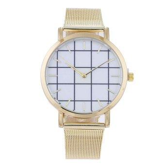 YBC Women Quartz Alloy Mesh Strap Analog Casual Business Watches - intl