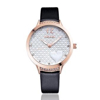 YJJZB KEZZI Brand 2016 Hot Sale Luxury Women Watches Ladies' Leather Wristwatch High Quality Lady