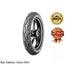 Zeneos - Ban Motor Tubeless Matic Velg 14 Uk.80 90 ZN61