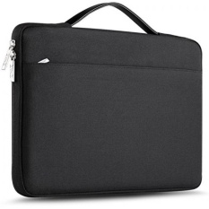 ZINZ 15 - 15.6 Inch Laptop Sleeve Case Protective Bag for 15 MacBook Pro 2016, Ultrabook Notebook Carrying Case Handbag for 15 ASUS Acer Lenovo Dell HP Toshiba Chromebook Computers -Black - intl