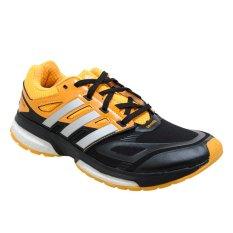 Adidas Response Boost Techfit M Sepatu Lari Pria Pria - Black1-Metsil