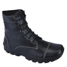 Catenzo Sepatu Boot Pria - Hitam
