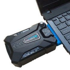 CoolCold Universal Laptop Vacuum Cooler - Black..