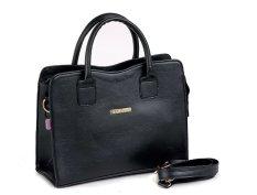 Garucci Handle Bag - Selempang Wanita-Sintetis Tsl 0753 - Hitam