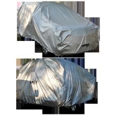 Impreza Body Cover Mobil For Honda Jazz - Abu-abu