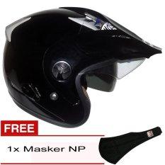 MDS CV Pro Solid 900 Hitam + Gratis Masker NP