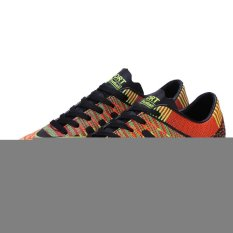 Men`s Outdoor Soccer Boots Turf TF Indoor Football Soccer Futsal Shoes (Black) (Intl)