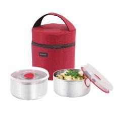 Rantang Lunch Box - Kotak Makan - 12 cm- Merah