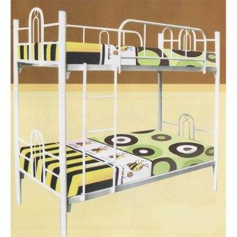 Simplefurniture - Tempat Tidur/Ranjang Susun Besi Tingkat