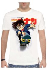 T-Shirt Glory Kaos 3D Detektif Conan - Putih