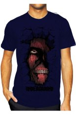 T-Shirt Glory Kaos 3D Left Eye Navy - Navy