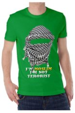 T-Shirt Glory Kaos 3D Moslim Hijau Tua - Hijau Tua