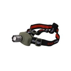 TK17 1 Cree LED 160 LM 2W (White) High Power Zoom Headlight (Silver)